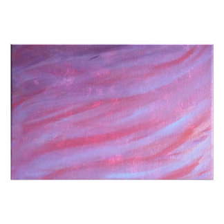 Adaptable | Original Pink Purple Zebra Abstract Photo Print