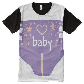 ADBL all over/Baby 4 life/Diaper Lover/All over t All-Over Print T-Shirt