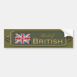 Add A Date Best Of British Bumper Sticker