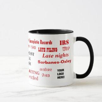 Add A Logo Funny Accountant or CPA Gift Mug