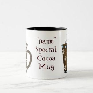Add A Name Cocoa Mug