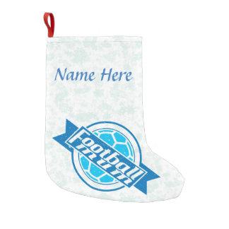 Add a Name Too A Football Mum Christmas Stocking