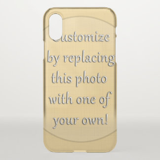 Add a Photo to Customize this... iPhone X Case