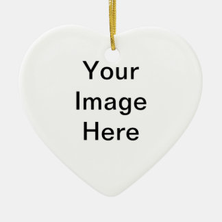 Add image and/or text to products ceramic heart decoration