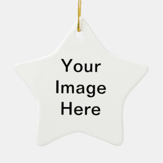 Add image and/or text to products ceramic star decoration