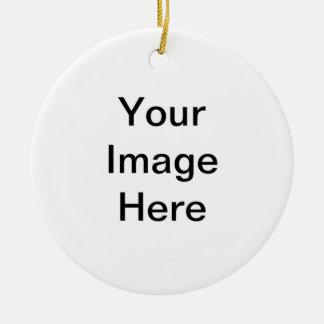 Add image and/or text to products round ceramic decoration