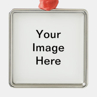 Add image and/or text to products Silver-Colored square decoration