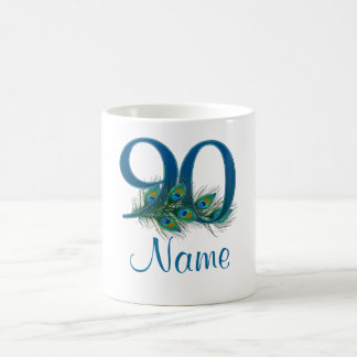 Add name 90th Birthday Coffee Mug