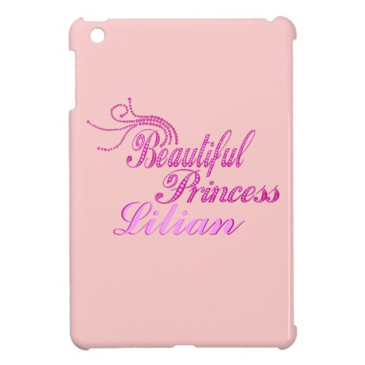 Add Name Beautiful Pricess Ipad Case iPad Mini Cover