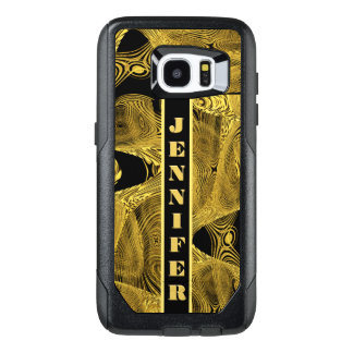 Add Name Liquid Gold OtterBox Samsung Galaxy S7 Edge Case
