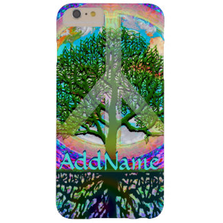 Add Name | Peace Tree Barely There iPhone 6 Plus Case