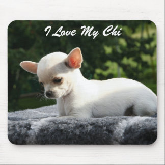 Add Photo And Text Chihuahua Mouse Pad