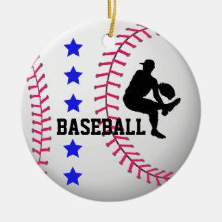 Add Photo Baseball Team Ornament