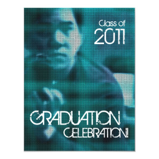 Add Photo Class of 2011 Invitation Sci fi 1