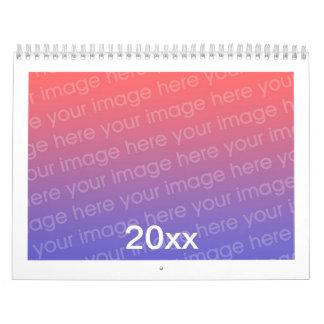 Add Photo Custom Printed Calendar