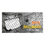 Add Photo Halloween Photo Card Bats Spider Horizon