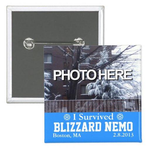 Add Photo I Survived Blizzard Nemo Button 3