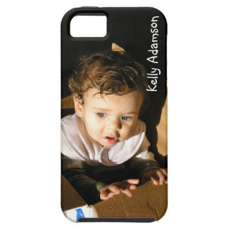 Add Pic of Your Adorable Child Here: Personalized iPhone 5 Cover