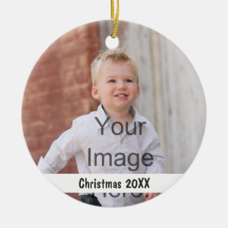 Add Pictures and text to a CHRISTMAS ORNAMENT