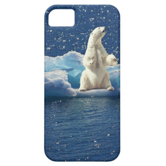 Add SLOGAN to Save Polar Bears Arctic Planet Ice Case For The iPhone 5