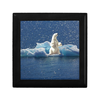 Add SLOGAN to Save Polar Bears Arctic Planet Ice Gift Box