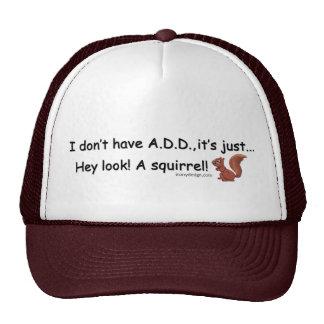 ADD Squirrel Hat