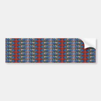 Add TEXT photo Template DIY Jewel Pattern Graphics Bumper Stickers