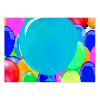 Add Text to Balloon Business Cards