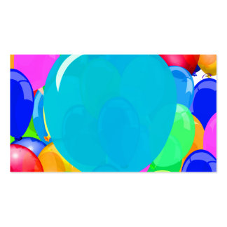 Add Text to Balloon Pack Of Standard Business Cards