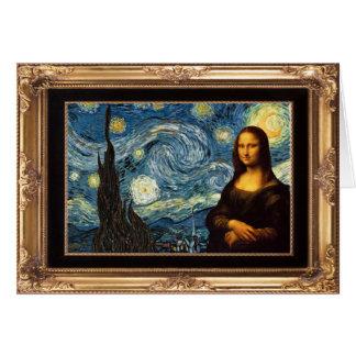 Add the Mona Lisa Card