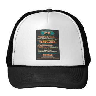 Add to Your Faith  Spanish Bible Verses Cap