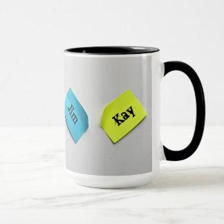 Add You Names Custom Coffee Mug By Zazz_it
