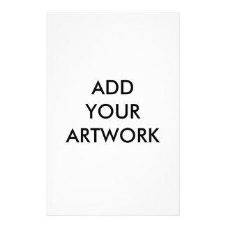 Add your artwork custom stationery