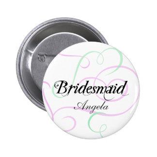 Add Your Bridesmaids Names Button