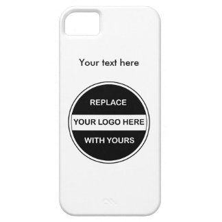 Add Your Business Logo iPhone 5 Cover