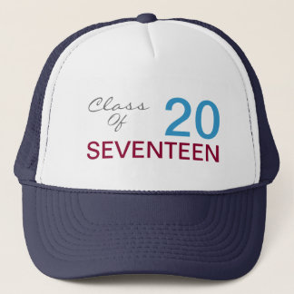Add Your Class Year 2017 Custom Trucker Hat