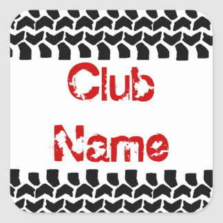 Add Your Club Name 3 Decals Sticker