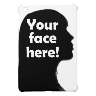 Add Your Face Here iPad Mini Cover