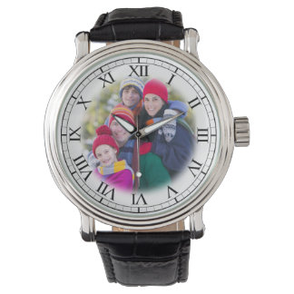 Add Your Family Portrait Fun Personalized Watch