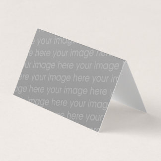 add your image folded blank template business card