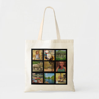 Add Your Instagram Photos Tote Bag