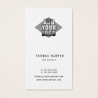 Add Your Logo Any Color Generic Business Card
