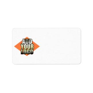 Add Your Logo Business Custom Address Labels