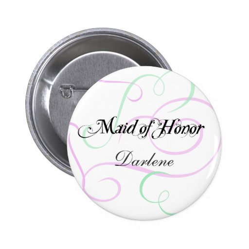 Add Your Maid of Honor's Name Button