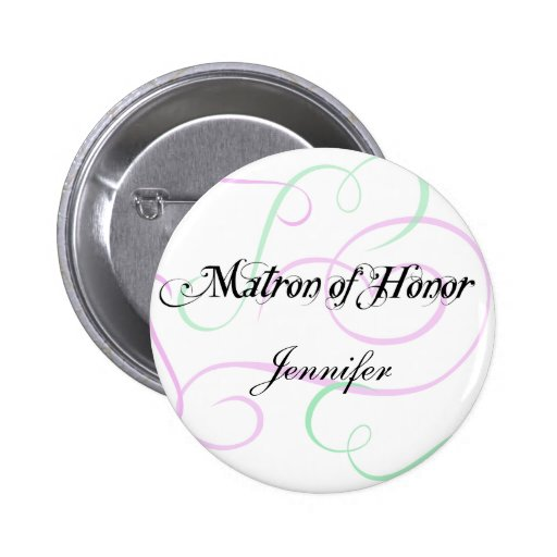 Add Your Matron of Honor's Name Button