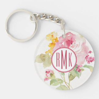 Add Your Monogram | Mid July Key Ring