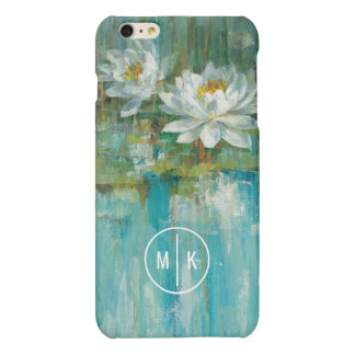 Add Your Monogram | Water Lily Pond