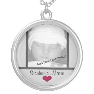 Add Your Name and Photo Love Keepsake Necklace