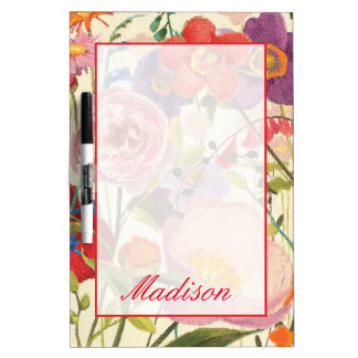 Add Your Name   Couleur Printemps Dry Erase Board
