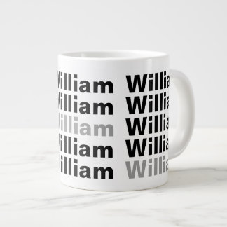 Add Your Name Customizable 2 Large Coffee Mug